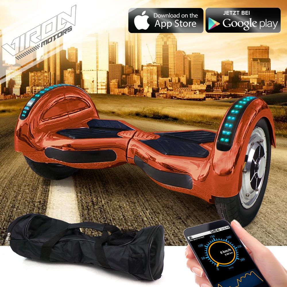 e balance scooter 10 zoll elektroroller smart wheel. Black Bedroom Furniture Sets. Home Design Ideas