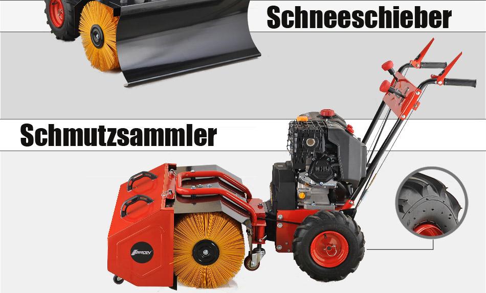 kehrmaschine 11 ps benzin schneefr se schnee schieber e start schneeschieber kaufen bei. Black Bedroom Furniture Sets. Home Design Ideas