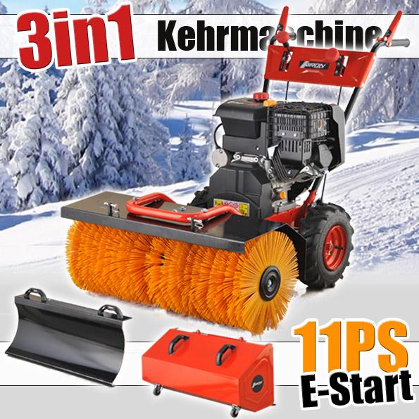 Kehrmaschine 11 PS<br> E-Start<br> Schneefräse ...