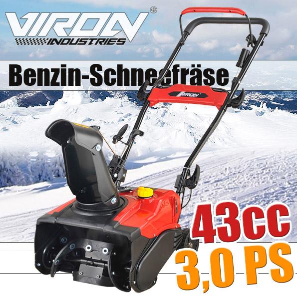 Snow Blower 43cc -<br>2 stroke