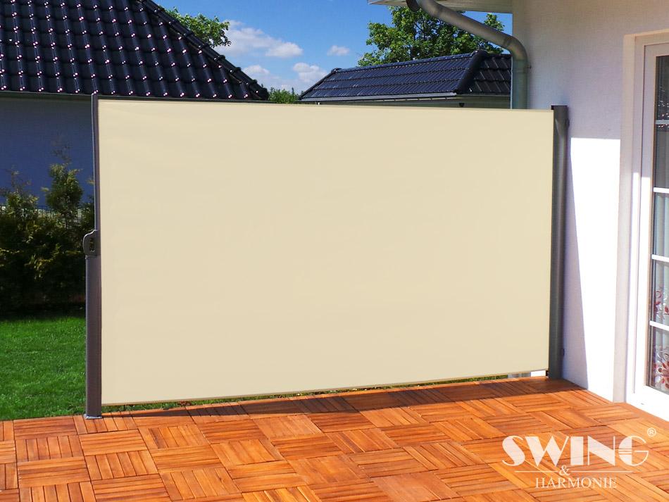Transparenter windschutz