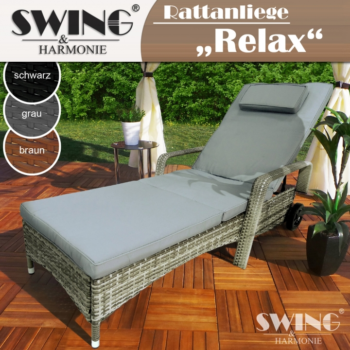 Polyrattan Liege - Relax - EveMotion GmbH